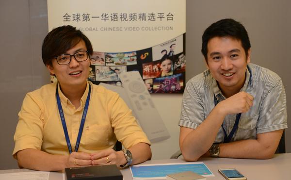 """古耀良(左)與林奕成擁有共同的理念及目標,創立了Botato Electronics私人有限公司,未來將發展成為國內最具權威性的""""在線電子產品購物平台""""。"""