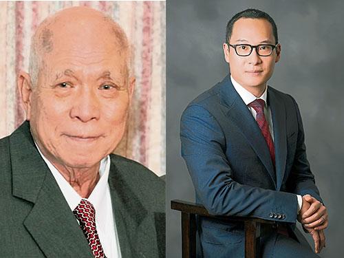 林悟桐(左圖)與林拱耀共同創立Donaco國際。