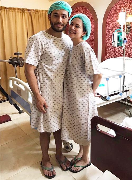西農曾經拍攝過關於自己人生過程的影片,並和劇中飾演自己捐腎對象姐姐的演員合照。
