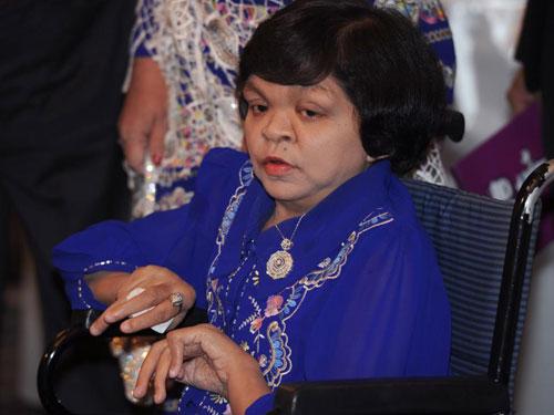 她被稱為ET的緬甸女神算瑞瑞溫。(互聯網)