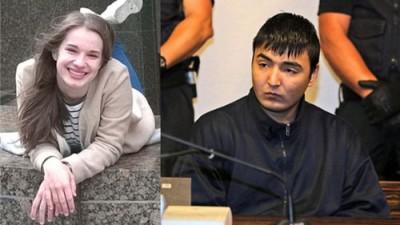 """拉登貝格(左)去年慘遭哈瓦里(右)先姦後殺,在供證時,哈瓦里竟表示:""""我看她長得那麼正,就一直想跟她做愛......。""""(圖:互聯網)"""