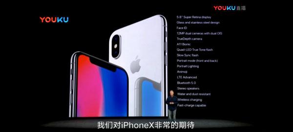 iPhone X具備的新功能。