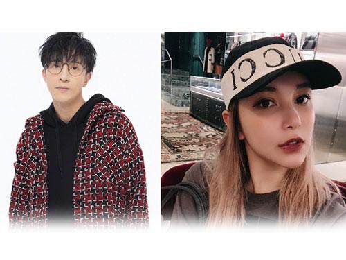 歌手薛之謙(左)被網紅李雨桐(右圖)控訴騙錢騙感情。(圖文翻攝《蘋果日報》)