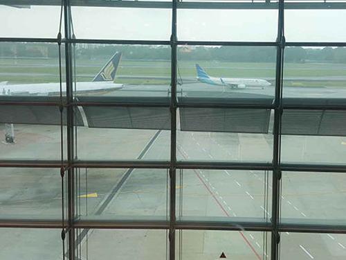 樟宜機場西側外圍清晨傳出槍聲。
