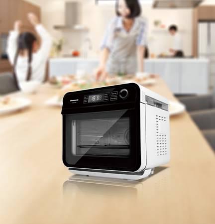蒸煮、健康炸、烘、烤及發酵等多功能集于一身,Panasonic Cubie蒸氣烘烤爐,讓你重拾烹飪樂趣。