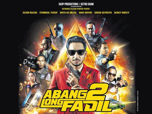 《Abang Long Fadil 2》目前仍在大馬的77家戲院上映中,有望再創下更驕人的票房成績。
