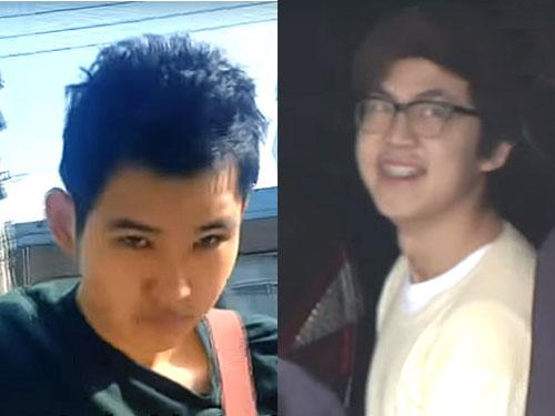 王琨駿(左)和劉偉城(右)。
