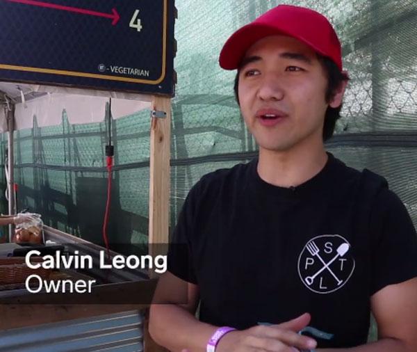 大馬華裔男子Calvin Leong