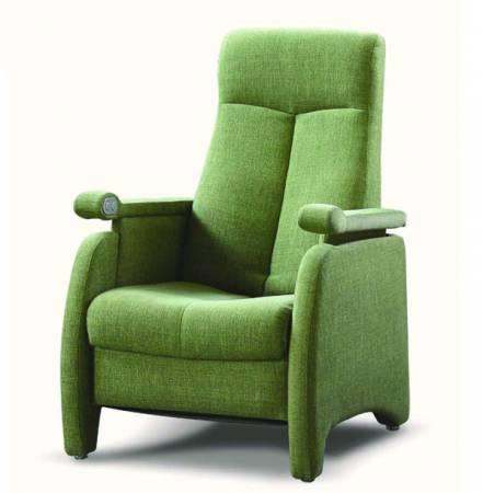 LILAC單人電動布料沙發椅,讓你隨心所欲調整沙發的高度與弧度。