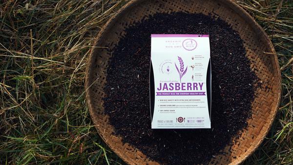 Jasberry稻米採用全手工收割,高品質產品富有豐富營養。