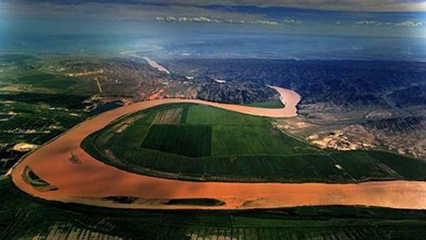 寧夏引黃古灌區。