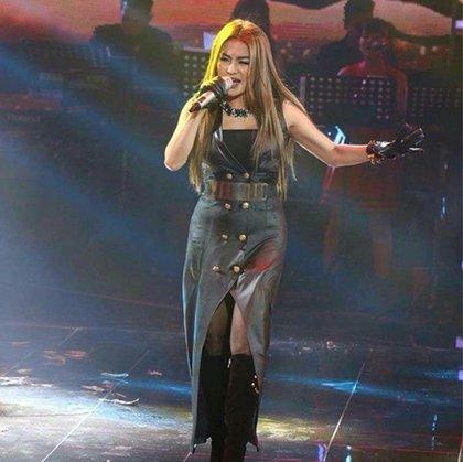 珊賽雷參加歌唱比賽表現優越。
