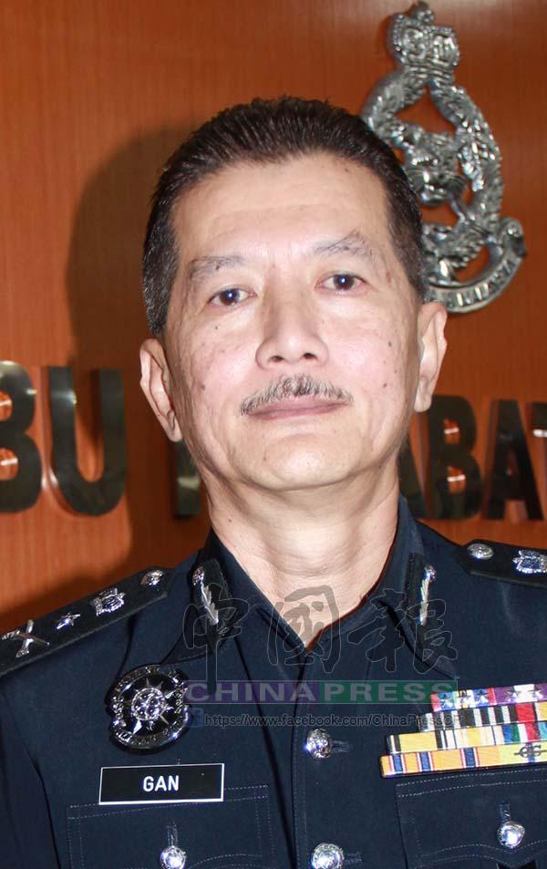 霹靂州刑事罪案調查組主任拿督顏天紀