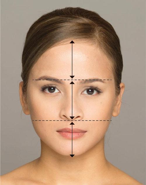 根據標準臉型準則,努魯妮莎擁有均稱的黃金比例臉型。(Merz Aesthetics提供)