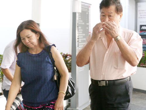 林寶花(左)及謝義南(右)。(譯音)