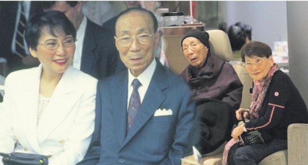 六嬸是六叔邵逸夫的第二任妻子。