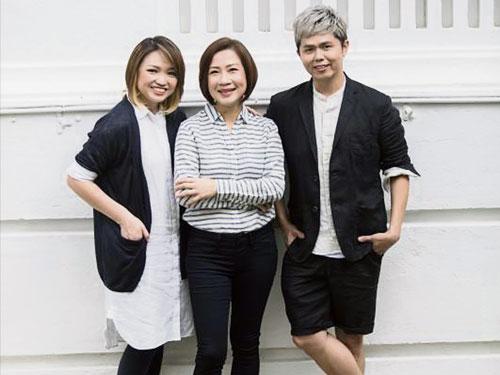 """洪菁雲(左起)、林安娜和黃文鴻這""""鐵三角"""",要為UFM100.3和96.3好FM的聽眾帶來優質節目和好聲音。(UFM100.3提供)"""