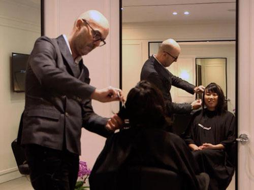 法拉帝獨創一種剪髮方式,所用的理髮刀也取得專利權。