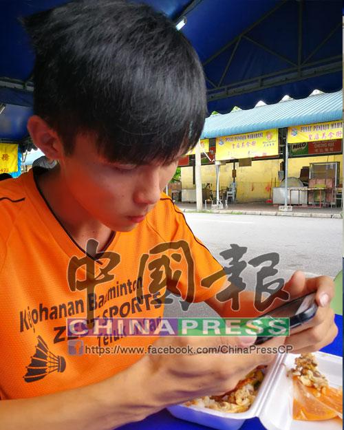 謝國毅:弟弟生前很孝順。