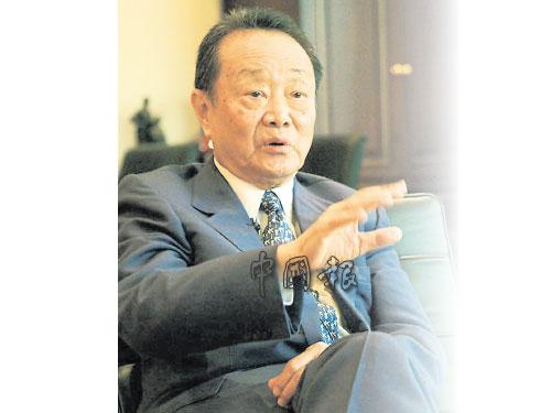 郭鶴年指見證了一台火車開往錯誤方向。