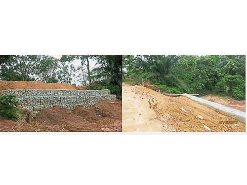 双文丹安达拉卡比的斜坡无法依时竣工,引起总审计司的不满,并担心斜坡将危及当地居民。