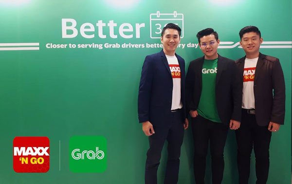 Maxx 'N Go與 Grab強強合作,推出讓Grab司機節省更多的優惠配套。