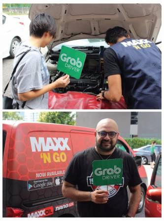 """配合 Grab""""Better 365""""活動,Maxx 'N Go不斷給Grab司機帶來驚喜優惠。"""