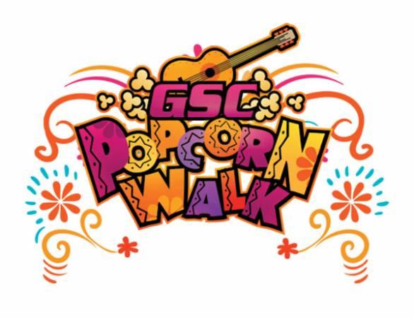 """GSC Popcorn Walk""爆米花嘉年華來囉!"