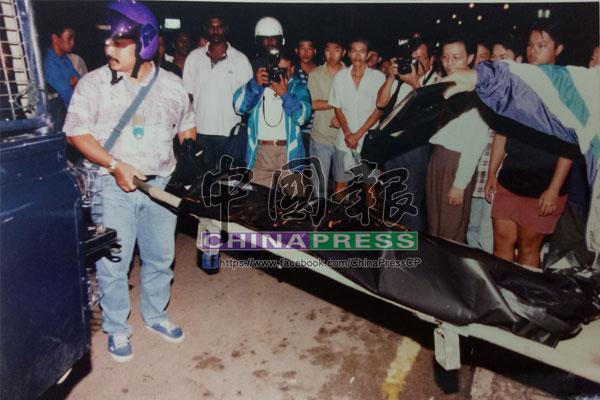 警員將葉麗群遺體送往吉隆坡中央醫院進行解剖。