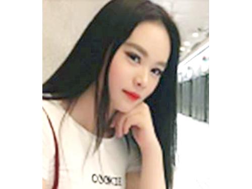 失蹤女郎胡惠燕。