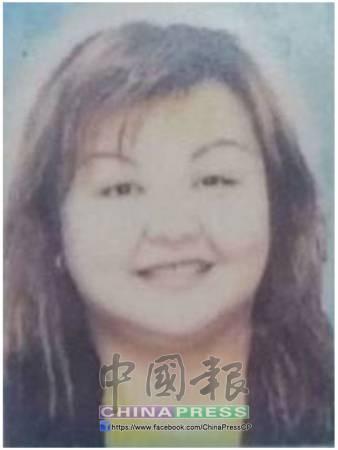 陳桂花遺照。