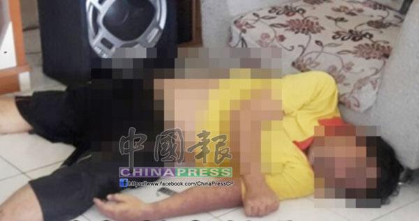 華裔男子疑急病發作暴斃在住家客廳。