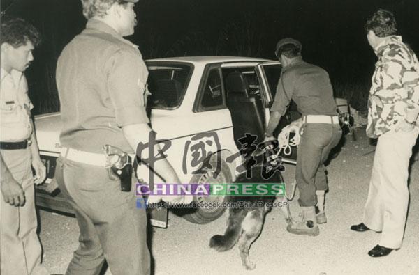 專案小組尋獲劫匪棄下的豪華轎車,證實該輛轎車是失車。