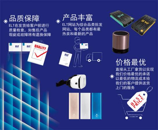 上千種3C電子和家居產品,皆是經過精心挑選才上架,供零售商選擇。