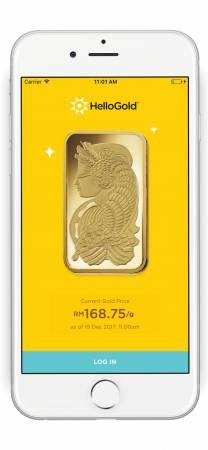 如今你只需透過HelloGold手機應用程式,隨時隨地可進行黃金買賣。