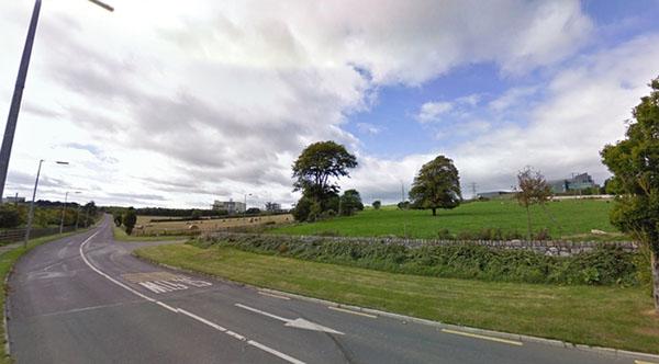 """愛爾蘭南方村落""""Ringaskiddy""""。∕Google地圖"""