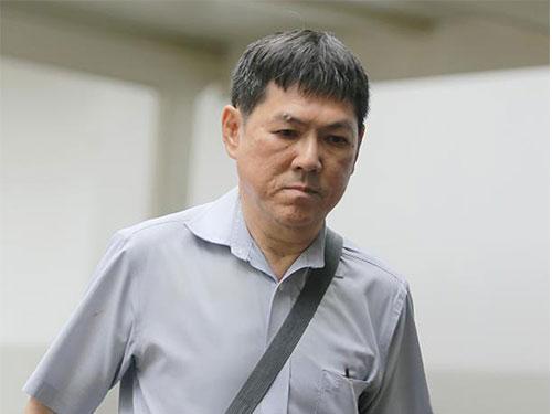 被告藍合財被判坐牢3年。(《海峽時報》)