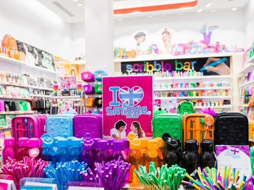 澳洲著名文具品牌Smiggle店面。(圖取自網絡)