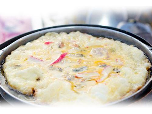 痣姐的泰式蟹肉蛋卷。