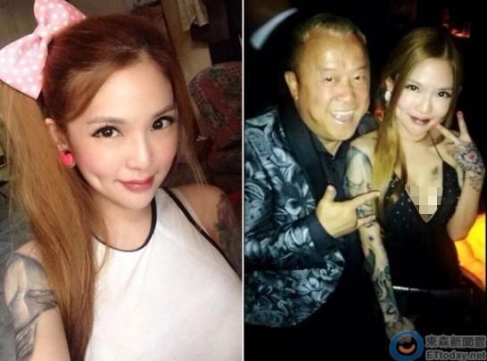 曾志偉與藝人朋友到吉隆坡出席派對,當天晚上與一名G奶文身美女Kinki Ryusaki聊得很開心。