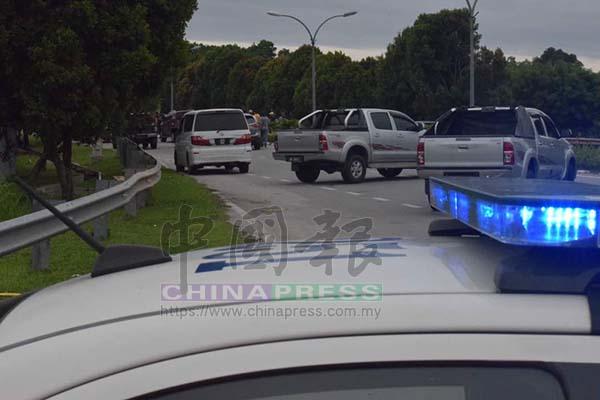 警方封鎖現場調查。