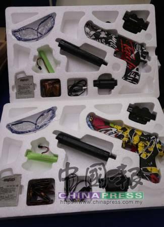 嫌犯從中國引入多把仿造手槍,警方擔心仿造手槍會遭不法之徒濫用和幹案。