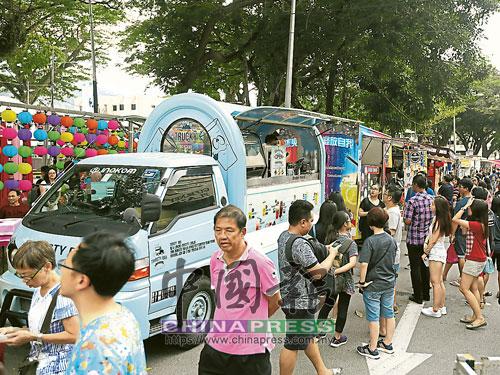 流動餐車獲准在檳島營業啦!(檔案圖)