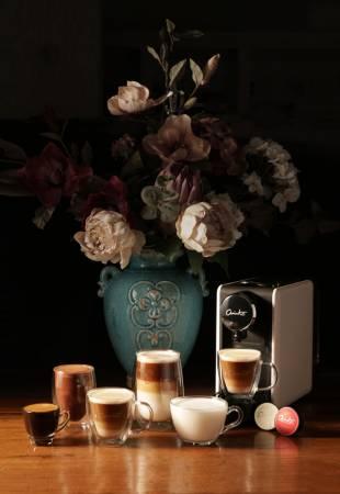 來自意大利的 ARISSTO,罕見贏得意大利人的歡心,每一杯皆呈現出多層次的咖啡享受。