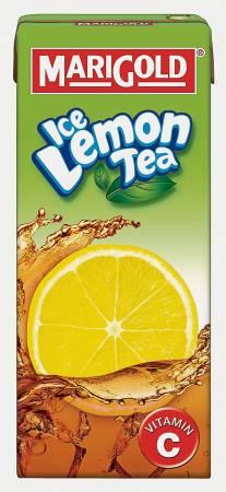 清涼的MARIGOLD凍檸茶,無論大人小孩都喜愛。