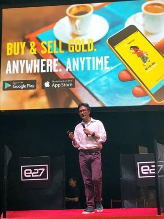 HelloGold 總執行長 Robin Lee 表示,讓人人都購買得起黃金。