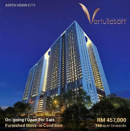 Vertu Resort高級公寓計劃。