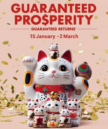"""ASPEN今年新春的可愛""""招財貓""""吉祥物,寓意為客戶招來好運及財富。"""