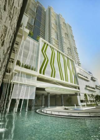 設于新港的Setia Pinnacle高級公寓,設有許多設施,當中還包括按摩浴池。