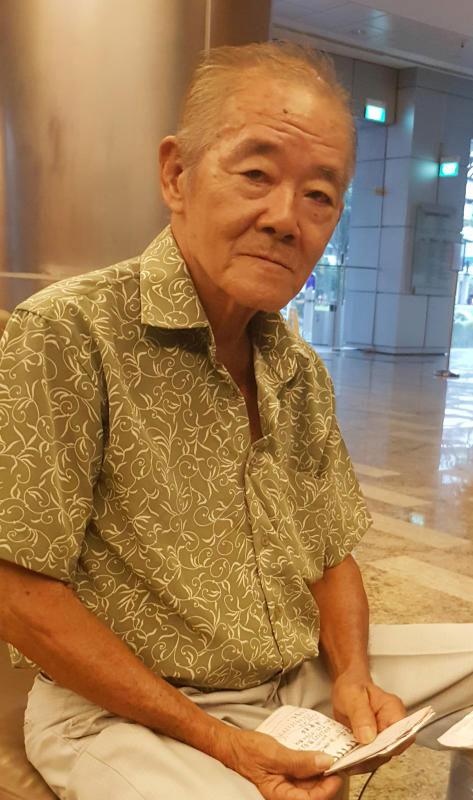 謝木諒花6小時的來回車程,再度到新加坡尋兒。(檔案照)